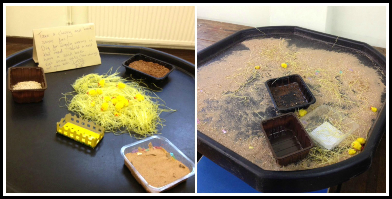 Bird Nest Soup Messy Play Matilda Mae