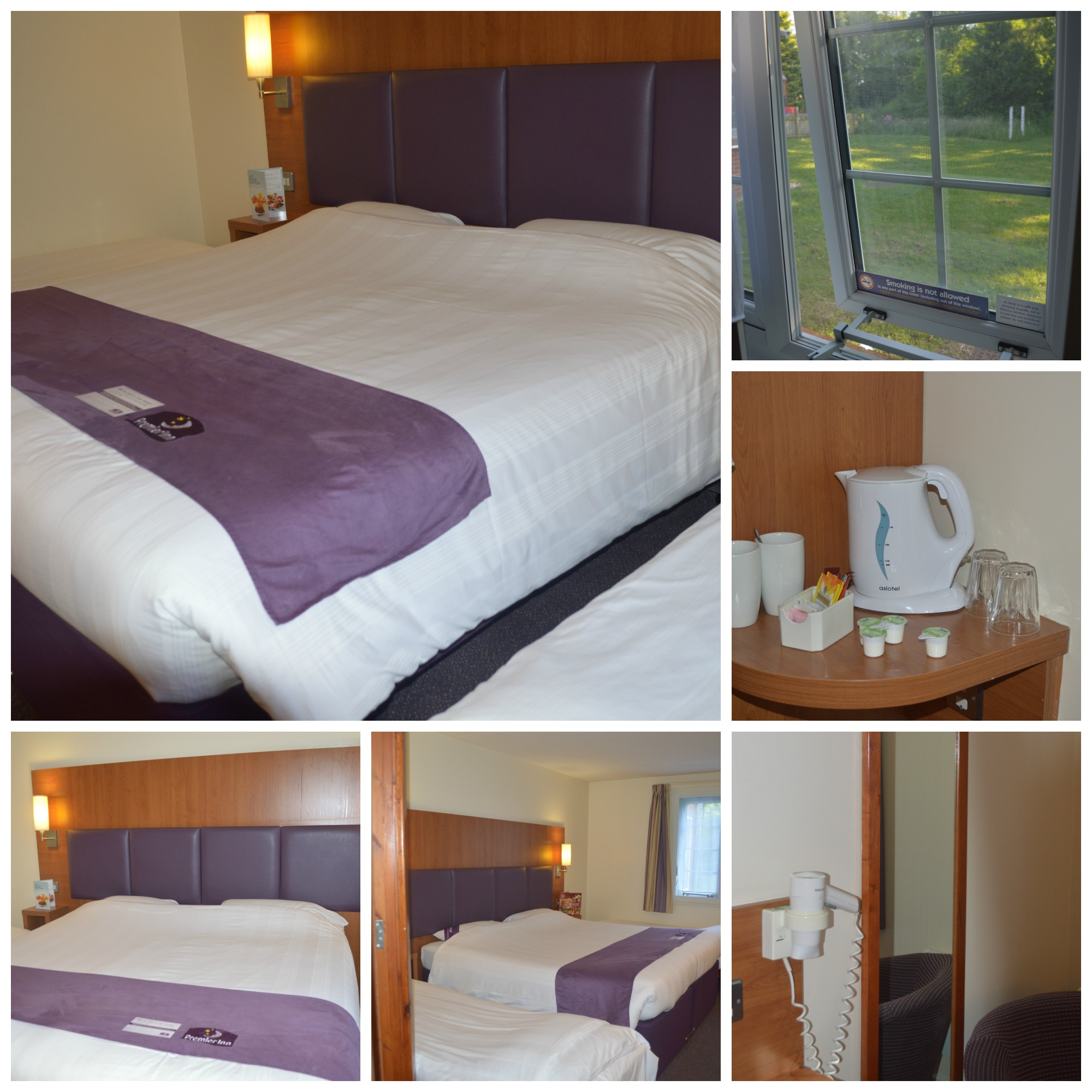 Premier Inn Family Room Facilities