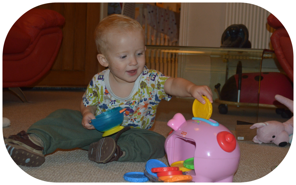 Laugh & Learn® Piggy Bank Counting Toy by Fisher-Price ...
