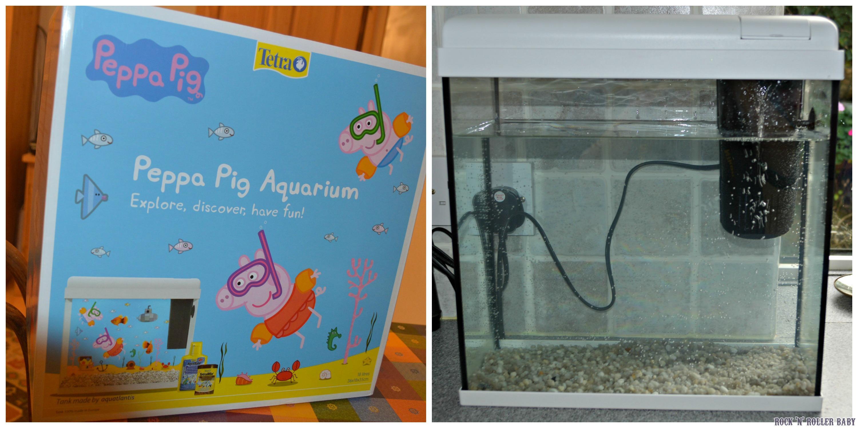 Peppa pig aquarium rocknrollerbaby for Take me fishing org
