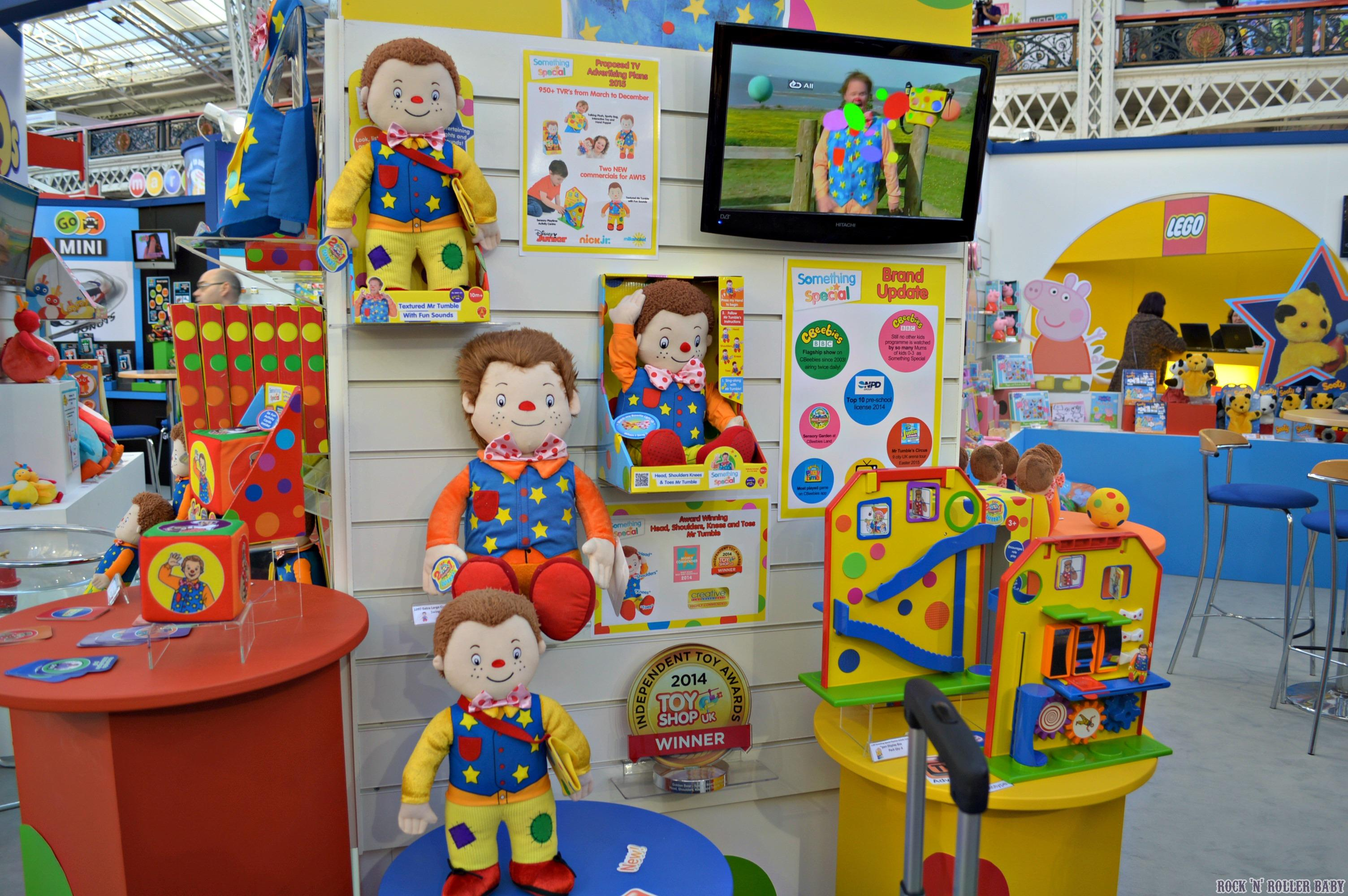 an interview with justin fletcher at the toy fair 2015