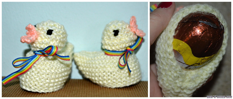 Knitted Easter Chicks! | RocknRollerBaby