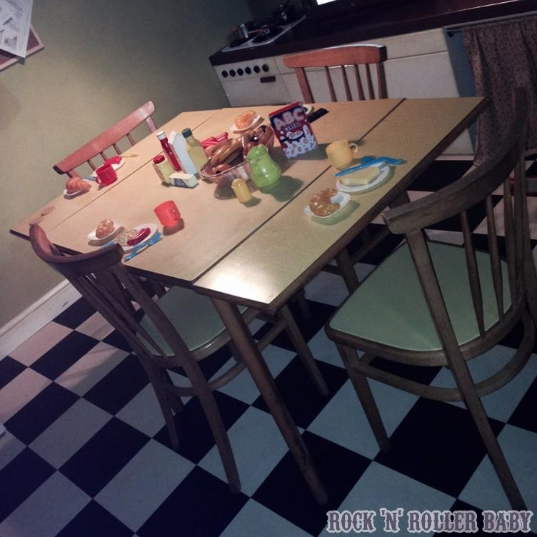 The kitchen at the Oliver Jeffers exhibition at the Discover Story Centre in Stratford!