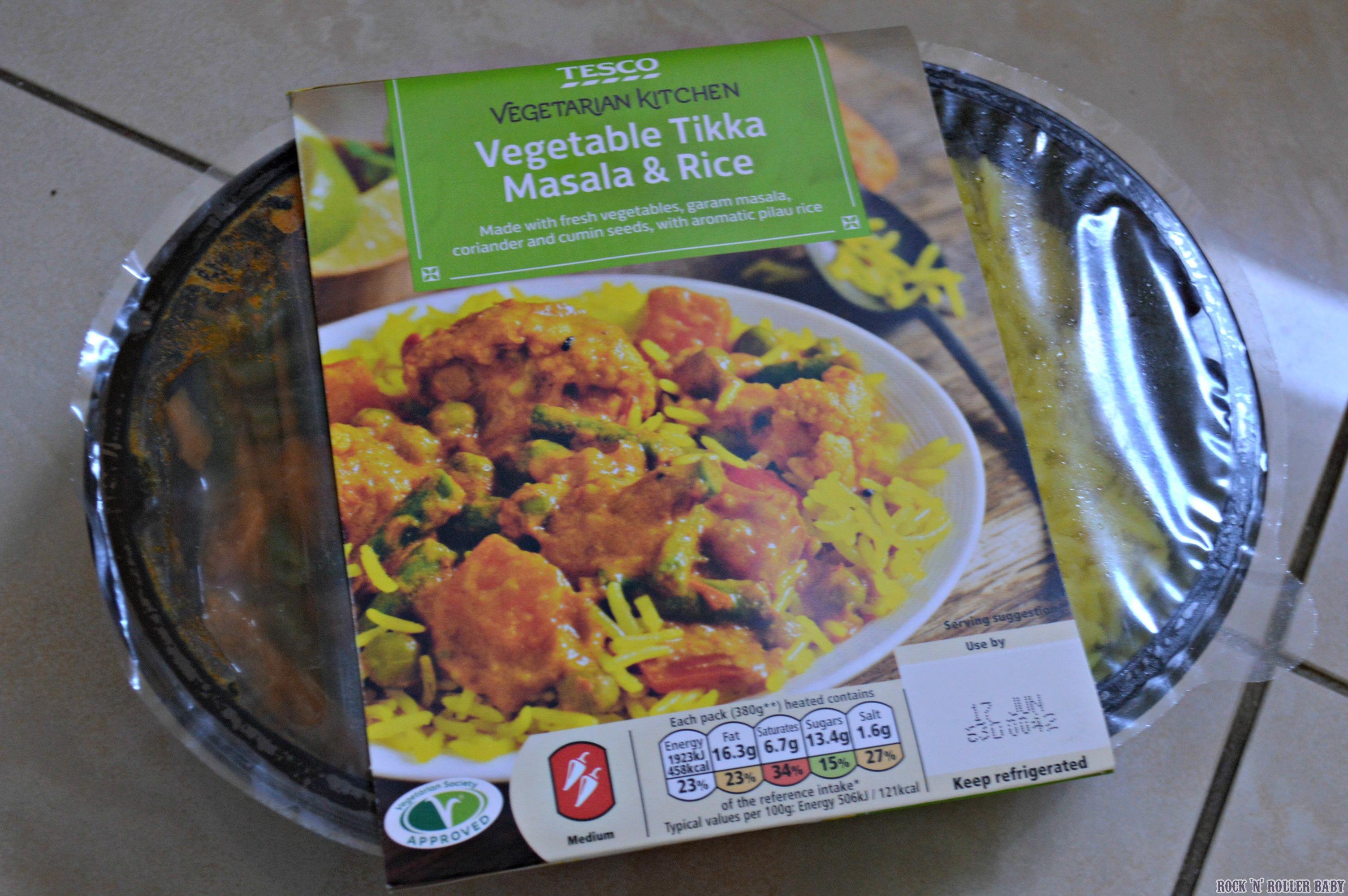Tescos Vegetarian Kitchen Rocknrollerbaby