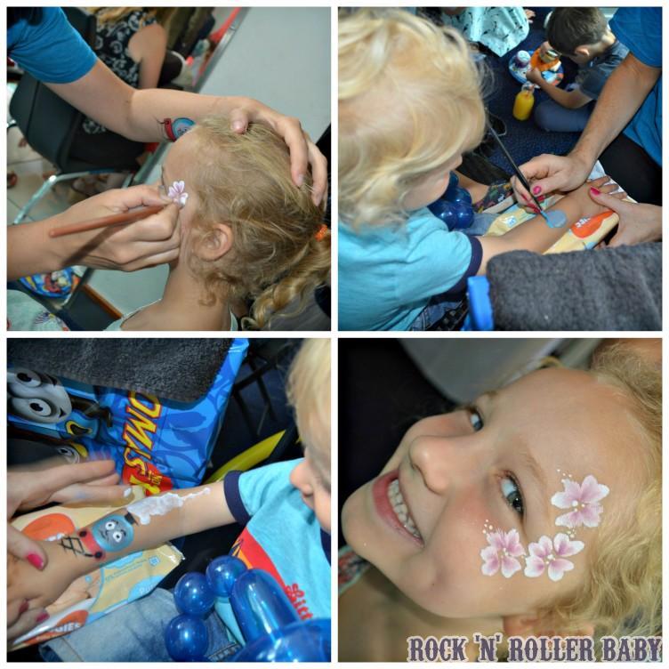 Brilliant face paints!