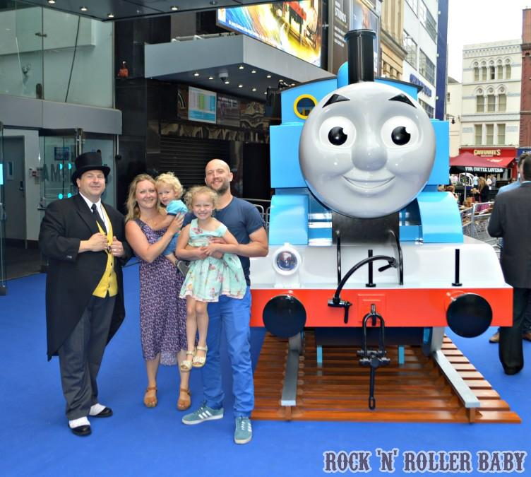 We walked the blue carpet in Leicester Square and met some of the stars of the movie!