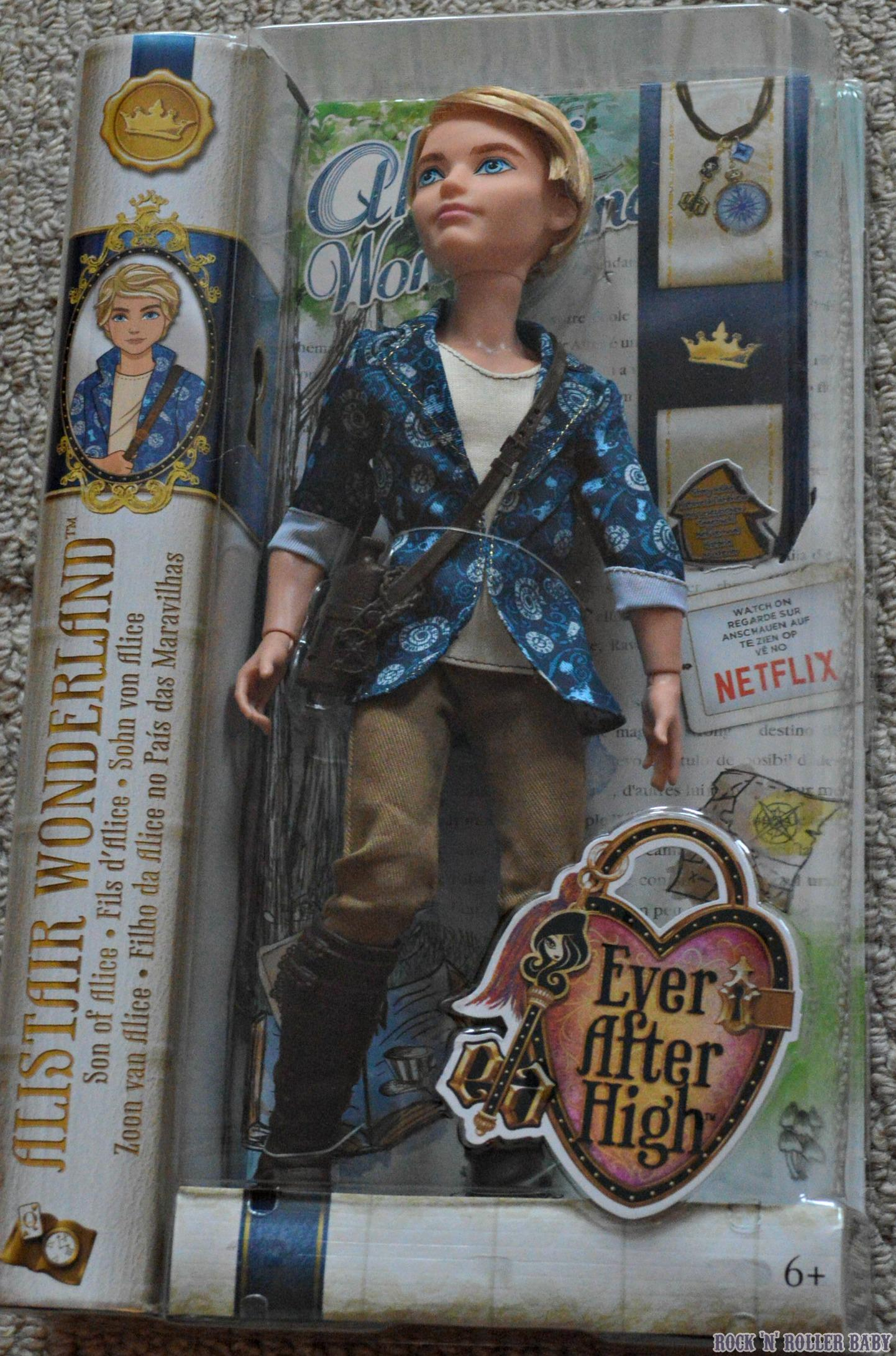 Alistair Wonderland Ever After High Review