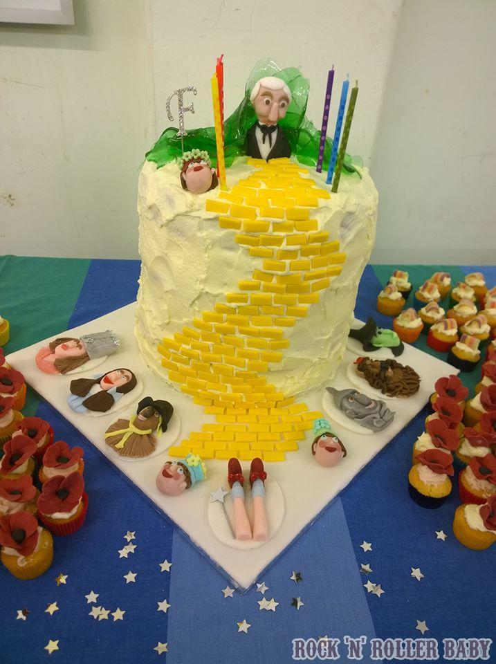 Awesome A Wizard Of Oz Birthday Party Rocknrollerbaby Funny Birthday Cards Online Bapapcheapnameinfo