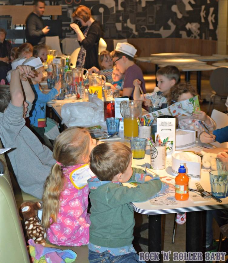 A Pizza Express Birthday Party Pizzaexpressfamily