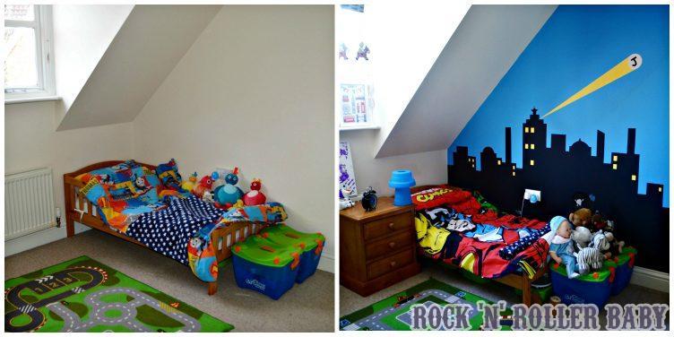 super hero room post