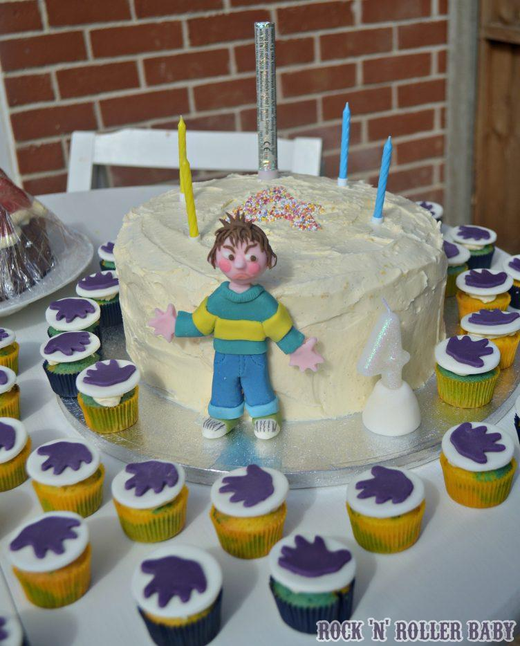 Jimmys Birthday Post 14 The Fabulous Horrid Henry Cake