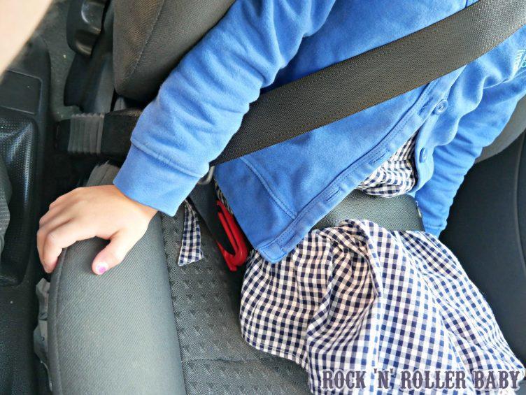 You must have a regilar belt and not just a lap belt!