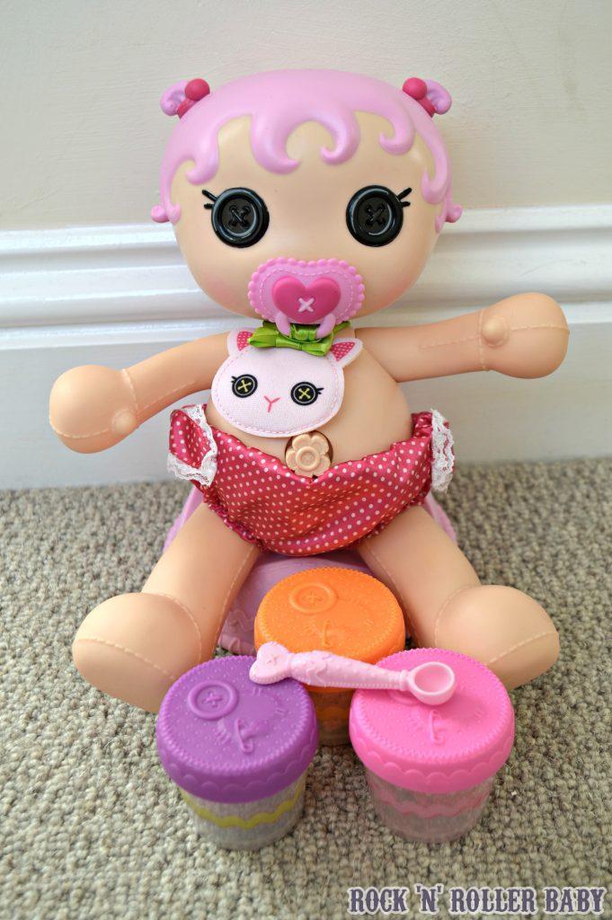Lalaloopsy Babies Potty Surprise Jewel Sparkle Doll
