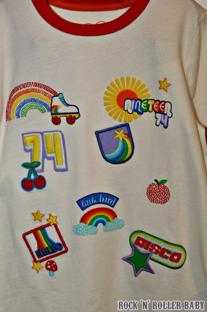 I've shown a close up on this T because... Well, because!