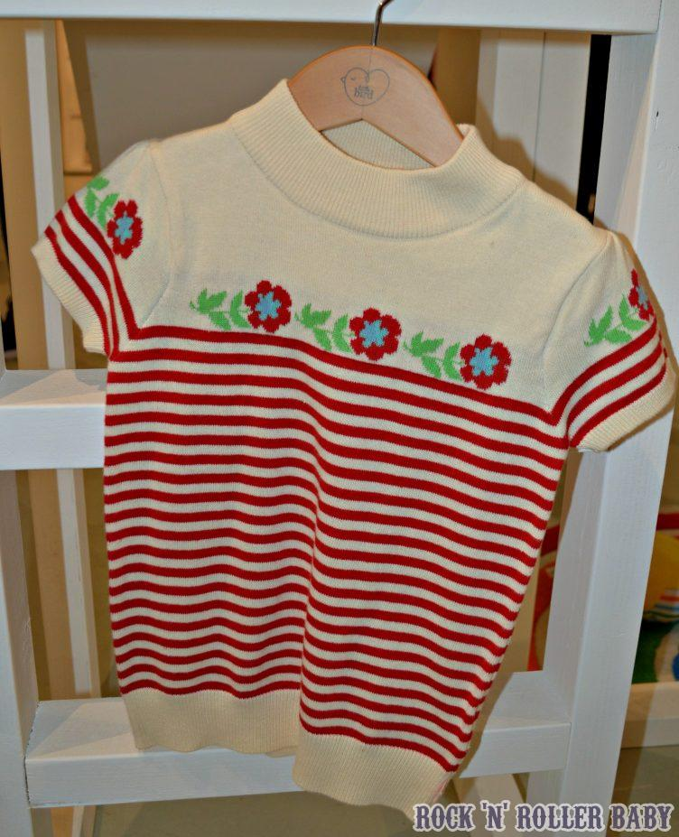 Oh this jumper... I can't tell you how much I love this. My Grandma had a jumper almost identical and it's one I saved, something I keep of hers. I put it on sometimes and one day I will wear it out. I must get this for Florence because...