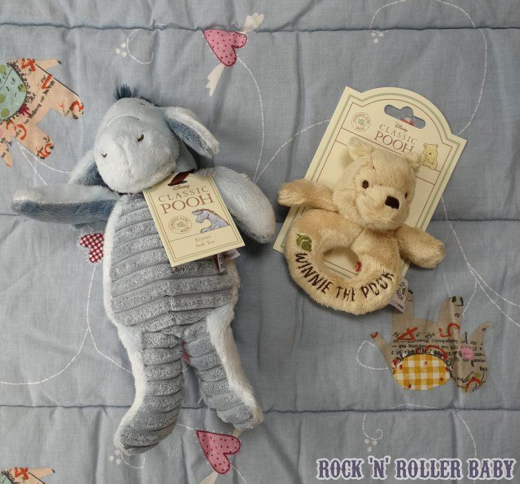Rainbow Designs Classic Winnie The Pooh /& Friends Ring Rattles Piglet